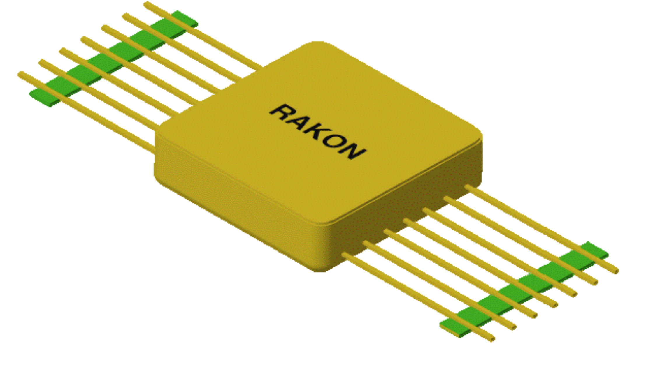 Space qualified, hybrid Voltage Controlled Oscillator (VCO) - RVC1616S