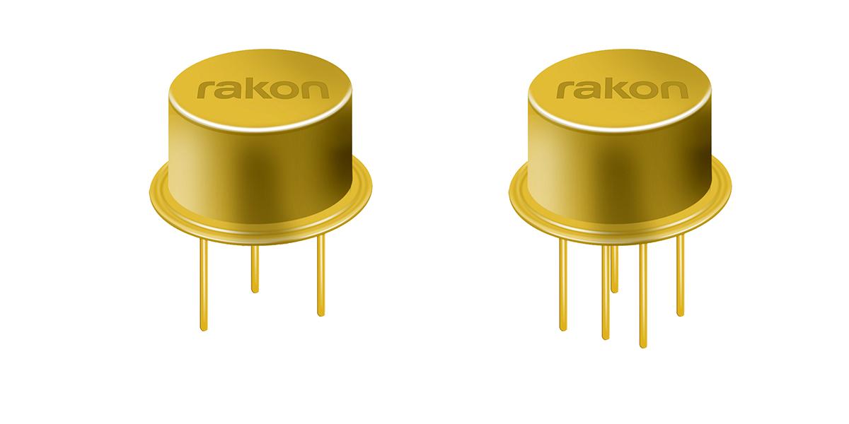 Rakon's high reliability Space-grade crystal resonator RHX3500 and RHX3700