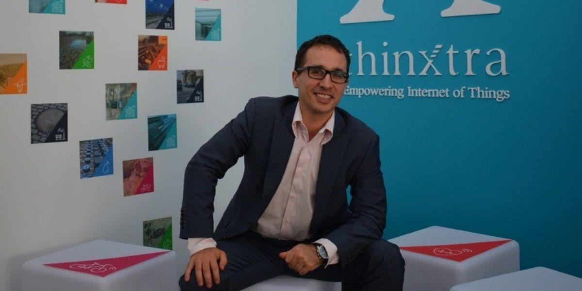 Thinxtra CEO Loic Barancourt